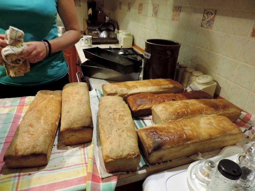 Jak babcia chleb piekła